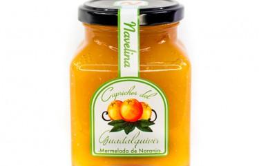Mermelada Caprichos del Guadalquivir de Naranja Navelina